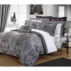 200 Thread Count Cotton Yarn Dyed King Size Duvet Cover Set