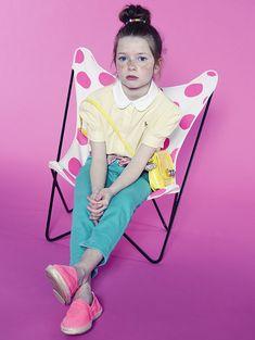 Photographer : Julie Ansiau @ c'est la vie for l'Officiel Enfant
