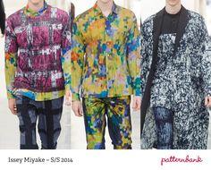 Menswear Paris Print & Pattern Highlights   Spring/Summer 2014