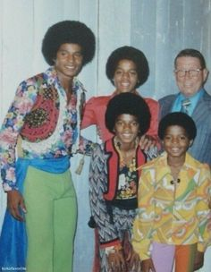 Michael Jackson and brothers