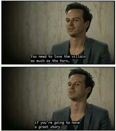 This is why we have Moriarty and not CAM. DIE, CAM << I think having CAM made us realise our love for Moriarty's madness
