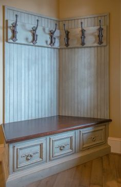 Habersham Mudroom Cabinetry at Cliffs at Mountain Park Model Home
