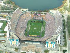 Florida Citrus Bowl Stadium - Home of the 2012 FHSAA Football State Championships! Winter Springs Florida, Football Stadiums, College Football, Places To See, Places Ive Been, Downtown Orlando, Sports Stadium, Sunshine State, Winter Travel