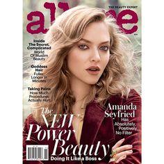 Foto da Amanda Seyfried na Allure para falar que esta paleta de cores bordô/marrons é o que vem por aí nas make-ups de outono. Quem curte? Allure  | trend | makeup  | beleza | Amanda Seyfried