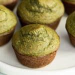 These blender Spinach Banana Muffins are an easy, healthy, freezer-friendly breakfast full of fruit and veggies! We call them quot; muffins because of their fun, naturally green color! They are gluten-free, dairy-free and have no refined sugar! Muffin Recipes, Baby Food Recipes, Gourmet Recipes, Breakfast Recipes, Cooking Recipes, Breakfast Casserole, Free Breakfast, Breakfast Spinach, Cooking Kale