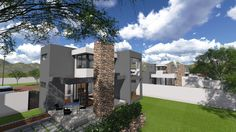 Earp Construction develops and sells properties in George on the Garden Route in South Africa. There are a range of design styles and sizes to suit your budget. Earls Court, Property For Sale, South Africa, The Unit, Construction, Mansions, Elegant, House Styles, Modern