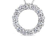 Diamond Circle Pendant   Follow and pin for your chance to win a $1000 gift card from #Ritani