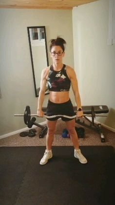 The ultimate fat burning full body barbell workout for women