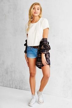 Truly Madly Deeply Laguna Cropped Top - Urban Outfitters