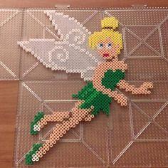 Tinker Bell perler beads by  jaysprites