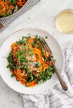 Have you tried sweet potato noodles? In the past, I've made zoodles and doodles(noodles made out of daikon radish), but it didn't occur to me until recently to make swoodles(?). Is that what we're calling them? Anyway, one night, with … Go to the recipe...