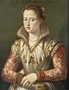 A Young Woman, 1565   (follower of  Agnolo Bronzino) (1503-1572)         Seattle Art Museum, WA   61.153