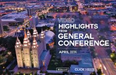 Use this video playlist of general conference video highlights for a quick and easy way to stay inspired.