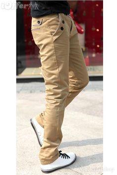 Pantalones termales hombres del estilo de la moda casual