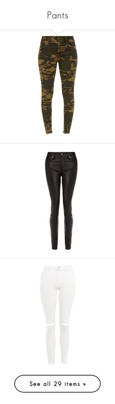 """Pants"" by audjvoss ❤ liked on Polyvore featuring jeans, camouflage jeans, camo skinny jeans, skinny fit jeans, brown skinny jeans, skinny jeans, pants, black, spodnie and helmut lang pants"