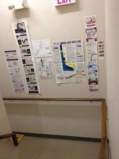 Infographics in stairwell Infographics, Magazine Rack, Facts, Culture, Digital, Storage, Furniture, Home Decor, Homemade Home Decor