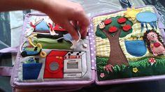 Hand crafted baby quiet book -for Jasmin - Made by Darina Scepkova......... Rucne robena detska knizka pre Jasminku