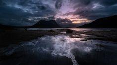 Arktisk landskap Lofoten - POPULÆRT: Folk strømmer til Lofoten for å ta arktiske bilder, ifølge fotograf Stian Klo. - Foto: Stian Klo / Lofoten Tours