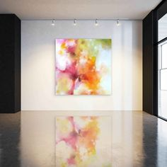Abstract Art Painting Modern Abstract by CorinneMelanieArt
