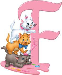 F Aristocats Alphabet (Oh My Alfabetos!)