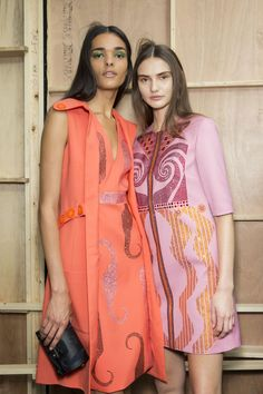 Holly Fulton | Spring 2016 Backstage | The Impression