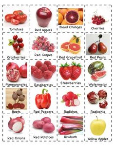 JL ~ Colorful fruits and veggies great for sorting! Preschool Is Fun Planning Activities: Fruits/Vegetables Nutrition Activities, Nutrition Tips, Health And Nutrition, Oral Health, Nutrition Tracker, Complete Nutrition, Color Activities, Child Nutrition, Health Care