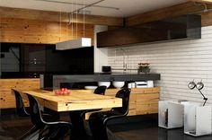 Dentro de las nuevas tendencias para 2014 en diseño de cocinas, está el gusto por la combinación de diferentes materiales y colores, creando espacios únicos, con la interrelación de tonos y materiales poco usuales. Podemos jugar con la madera en todas sus tonalidades y con el círculo cromático, sin excluir ningún color.
