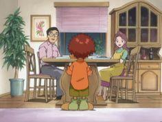 Koushiro with his family