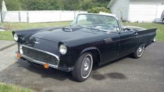 Rhonda's 1957 T-Bird Ford Mustang Coupe, Cod, Hot Rods, Antique Cars, Vehicles, Vintage Cars, Ford Mustangs, Cod Fish, Car