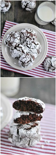 Chocolate Crinkle cookie are easy, delicious, and always a family favorite!