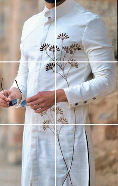 Mens Indian Wear, Mens Ethnic Wear, Indian Groom Wear, Indian Men Fashion, Mens Fashion Wear, African Fashion, Kurta Pajama Men, Kurta Men, Gents Shirts