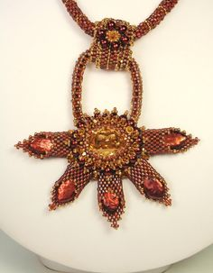 Scythian Starburst Necklace by Norma Jean Dell of njdesigns1