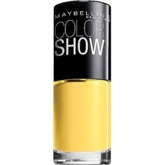 Maybelline NEW York Color Show Nail Lacquer .23 OZ fierce N Tangy 230 inch (Pack of 2 pc)