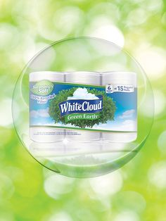 White Cloud GreenEarth® products are eco-friendly and have a Forest Stewardship Council certification! #LivingtheGreen