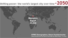 """Simon Kuestenmacher on Twitter: """"Animated #map shows the location of the world's largest city in #history over time. #edchat… """""""