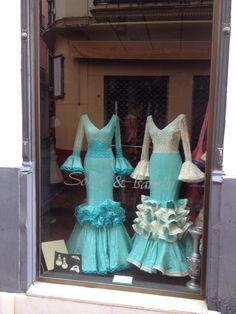 Flamenco dress shop, Sevilla