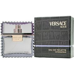Man by Gianni Versace Men's Eau De Toilette Spray, 3.3 fl oz as of 12/8/12 price and availability subject to change without notice                Tarragon, White Lemon, Cedar Leaves, Rosewood, Carambola, Musk, Amber, Sage, Sycamore                                          $72.00  $43.00