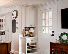 Kitchen Kitchen Office Design, Pictures, Remodel, Decor and Ideas - page 3