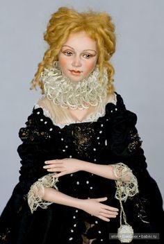 Эксклюзивные авторские художественные куклы Александры Кукиновой
