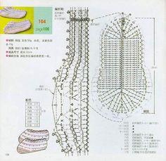 Tonterías de...: Zapatillas de ganchillo