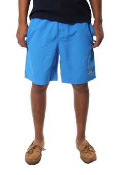 The North Face M Class V Rapids Swim Trunks Clear Lake Blue Size Small