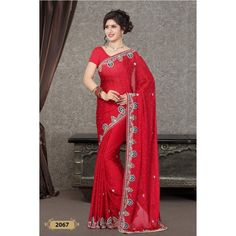 Handwork Designer Saree ( D.No.2067 )