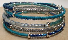 Blue And Gray Collection by Tenshi on Etsy