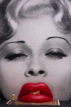 Dali's Mae West Lips Sofa