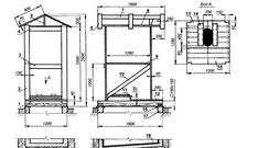 Дачный туалет своими руками: 48 чертежей + фото Diagram, Floor Plans, Woodworking, Bricolage, Woodwork, Joinery, Carpentry, Floor Plan Drawing, Woodworking Crafts