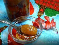 Варенье из цельных плодов фейхоа. Ингредиенты: сахар, вода, коньяк