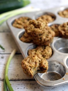 Hummusapien | Savory Vegan Zucchini Muffins. Excellent recipes and good writing. Do yourself a favor and bookmark this site. Big thanks to Susan for the recommendation!