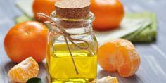 Ein Fläschchen Orangenöl