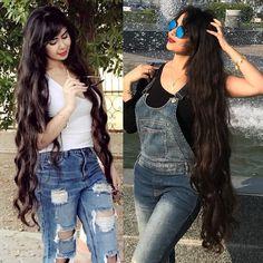 Instagram Beautiful Long Hair, Gorgeous Hair, Simply Beautiful, Loose Hairstyles, Girl Hairstyles, Really Long Hair, Harley Davidson, Long Curls, Brunette Beauty