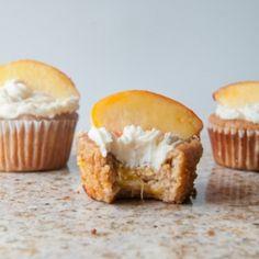 peaches n cream muffins more cupcake recipes loaded peaches cream ...
